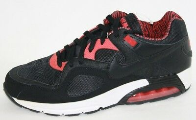 NEW MENS NIKE Air Max Go Strong 631718 001 Black Solar Red