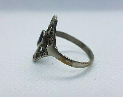 ancient antique roman legionary old ring metal artifact authentic rare type 3