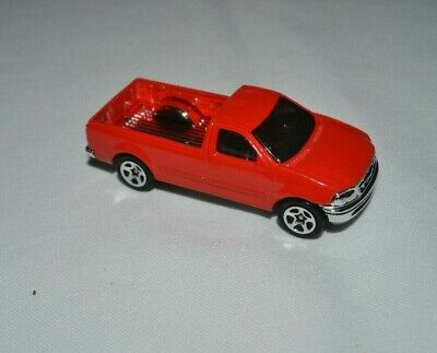 Hot Wheels Ford F-150 1997 First Editions #2 of 12 Red
