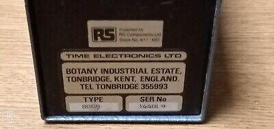 Time Electronics Ltd 8000 Tonbridge 4
