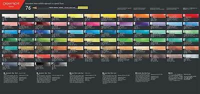 Caran d'Ache Museum Aquarelle Artists Quality Water Colour Pencil Full Range 3