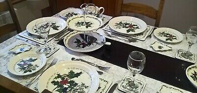 Portmeirion The Holly And The Ivy Tableware - Various - Plates - Bowls New 7
