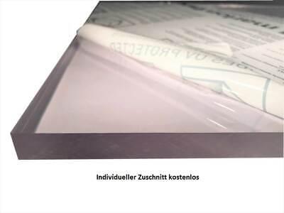 Makrolon//Polycarbonat Scheibe//Platte Zuschnitt 2-8 mm transparent//klar 3 mm, 1000 x 900 mm