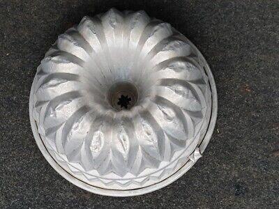Alte Backform Gugelhupf Topfkuchen Kuchenform Aluminium Alu Kuchen Backen 3