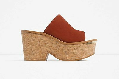 Details about Women's Shoes Sandals Wedges Letters High Heels Big Wedges Sabot Toocool LA27 16