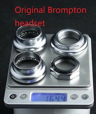 """J/&L 1-1//8/""""//30mm Crown Race fit Threaded Ball bearing Headset for Brompton-3g"""