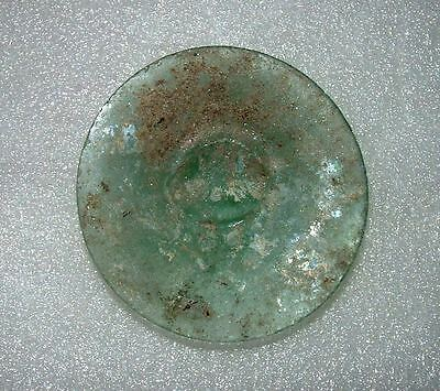 ancient roman glass fragment with very lovely patina amazing.large 2