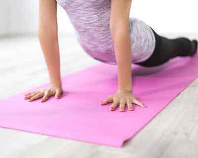 Esterilla para yoga gimnasia Colchoneta de fitness Pilates deporte colchón 7