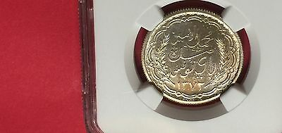 Tunisia Ah1372//1952 Silver 10 Francs Ngc Ms65 Extra Rare! Low Mintage! 9