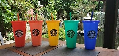 Starbucks Color Changing Summer Pride 2020 COLD Reusable Cup tumbler New Venti 2