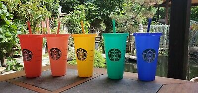 Starbucks Color Changing Summer Pride 2020 COLD Reusable Cup tumbler New Venti 9