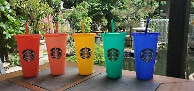 Starbucks Color Changing Summer Pride 2020 COLD Reusable Cup tumbler New Venti 3