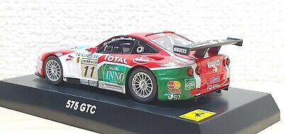 DIY assembly New Kyosho 1:64 Diecast Model Ferrari 575GTC Red 07046A4