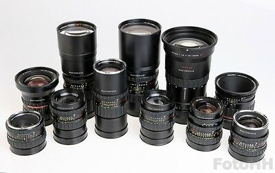 Rollei **Masterpiece** Collection Set Of 11 Rollei Lenses // Unique And Rare Set 2