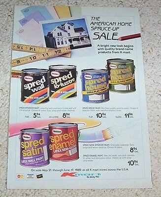 1989 Vintage Ad Kmart Krylon Rust Oleum Spray Paint Print Advertising Booklet 7 99 Picclick