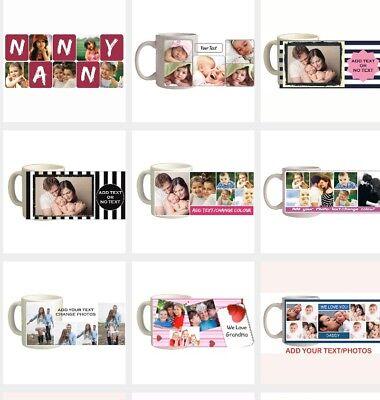 Photo Mug / Personalised Mug / Custom Gifts / Collage Pictures / Coffee Tea Cup 2