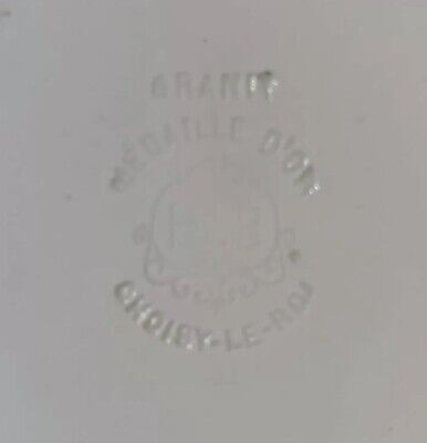 Antique French Porcelain Portrait Ormolu Cavalier King Charles Spaniel Dog Plate 8