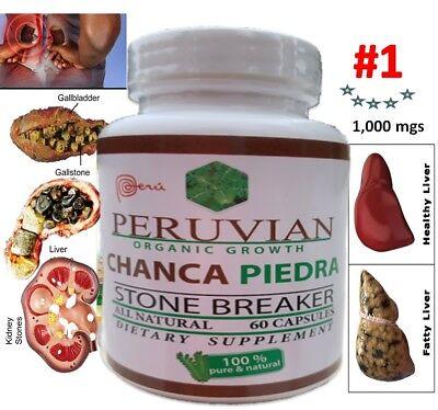 Chanca Piedra chancapiedra 1000mg 120 tab-cap Peruvian material Stone Breaker 2 6