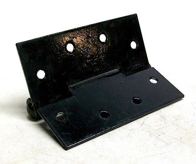 "Lot Of 5 Nos Vintage 5 1/2"" X 4 3/4"" Black Japanned Welded Pin Butt Hinges Dm 2"
