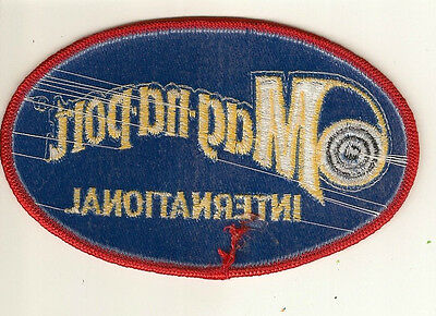NEW MAG-NA-PORT INTERNATIONAL EMBROIDERED PATCH