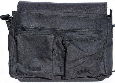 +++ BOMBAY KATZE - Schwarze COLLEGE TASCHE Collegetasche Tas Bag - CAT 03 5