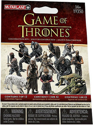 Mcfarlane Game Of Thrones Series 1 Jon Snow Collectible Figure Blind Bag Knights 2