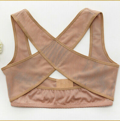 Women Chest Vest Adjustable Shoulder Back Posture Corrector Support Belt Brace 2