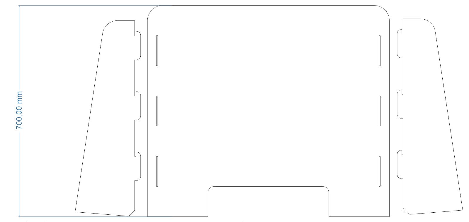 Aiyaoo Spuckschutz Plexiglas Zum H/äNgen f/ür Thekenaufsteller Thekenaufsatz virenschutz Acryl spuckschutz 30x90cm Antibakteriell Hochwertiger Hygieneschutz BxH