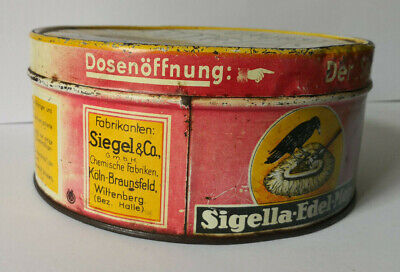 Alte Blechdose, Sigella Edel-Mop - Siegel & Co. Köln Braunsfeld, Wittenberg 3