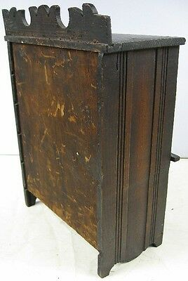 Antique 1860's Doll or Sample Empire Style Chest Nice Style 2