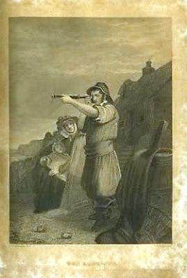 Antique Book 1851 KEEPSAKE of FRIENDSHIP 4 Oliver Pelton Engravings CHRISTMAS hb 10