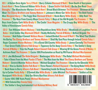 1 Of 2FREE Shipping 60 Irish Rebel Songs 3CD BOX SET Greatest FREE UK PP
