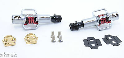 Crank Brothers  Egg Beater 1 Pedals with Red Spring XC Trail Mountain