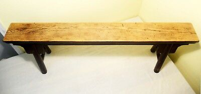 Antique Chinese Ming Bench (Pair)(2855), Circa 1800-1849 12