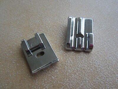 Pied passepoil double, perles 2 rainures métal F067 (4-6mm) machine à coudre 8
