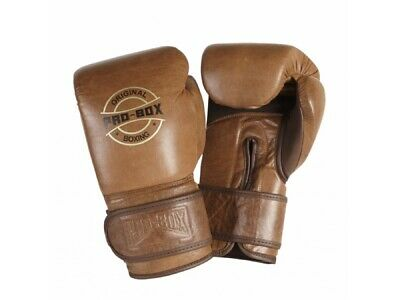 Pro Box Original Boxing Gloves Leather Sparring Gloves 10oz 12oz 14oz 16oz 12