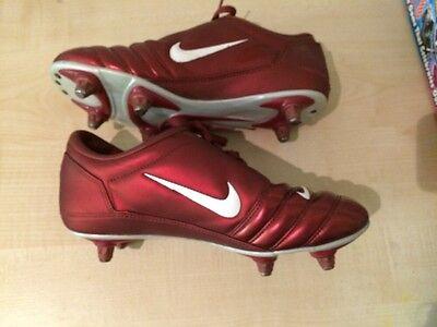 Nike Total 90111 Air Zoom Red Kids Junior Football Boots Uk 6 Eur 40 7