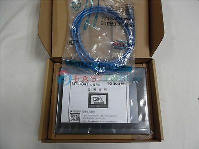 "New In Box 7"" inch HMI Touch Screen Panel Kinco MT4434T with Cable&Software 4"