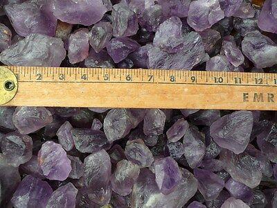 Cabbing Reiki 18 Pounds of Topaz Rough Tumble Rocks Cutting