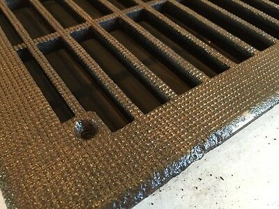 Antique Heating Grate treaded Top Tc 63 2