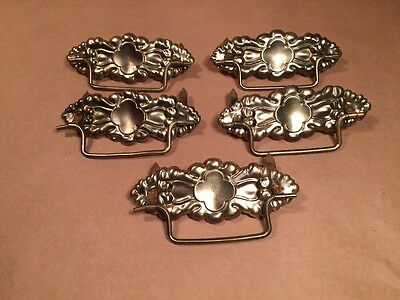 One Antique Original Vintage Flower Pull 3