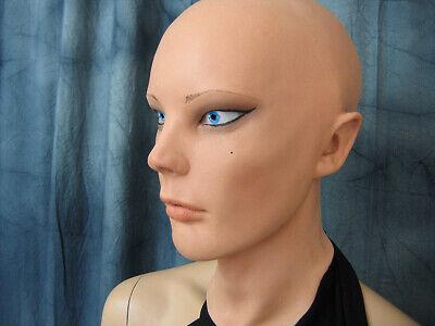Latexmaske LIV STARLET +AUGEN Real. Frauenmaske Gummi Frau Zofe Trans Swinger 11