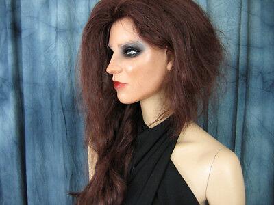 Latexmaske KEIRA B+WIMPERN +PERÜCKE Real. Frauenmaske Gesicht Trans Crossdresser 2