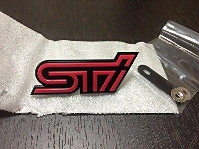JDM OEM Emblem BUDGE SUBARU STI BRZ IMPREZA FORESTER LEGACY WRX JAPAN F//S