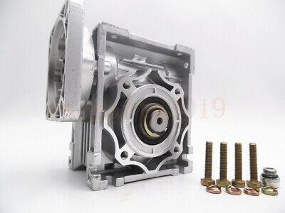Gearbox Worm Gear Reducer NEMA34 Stepper Motor Ratio 10 20 25 40 50 60 80 100:1 6