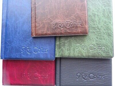 Coin Album 96 coins perfect for 50p ,£2 ,penny and other british coins 6