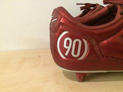 Nike Total 90111 Air Zoom Red Kids Junior Football Boots Uk 6 Eur 40 5