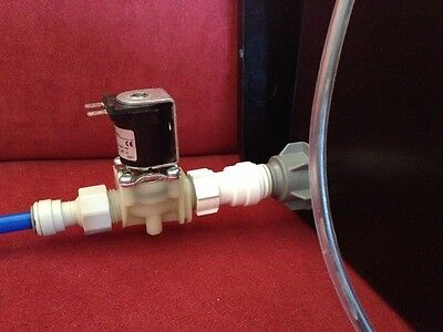 Aquarium RO 18 Litres Water Tank Float Valve Solenoid Project