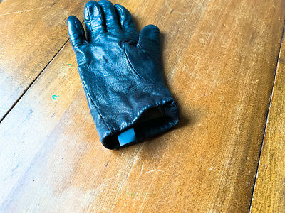 Brown Right Hand Cashmere Leather Women Glove Small 2