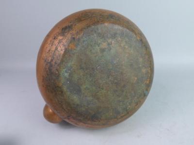 Antique Japanese Copper Teapot Lot 1052